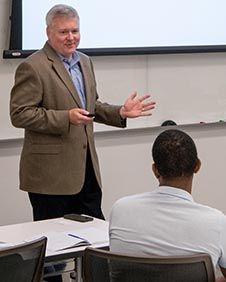Bob Lannan teaching